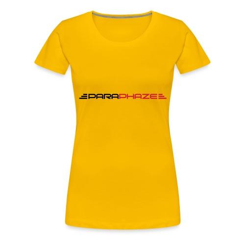 PARAPHAZE TEXT ALT - Vrouwen Premium T-shirt