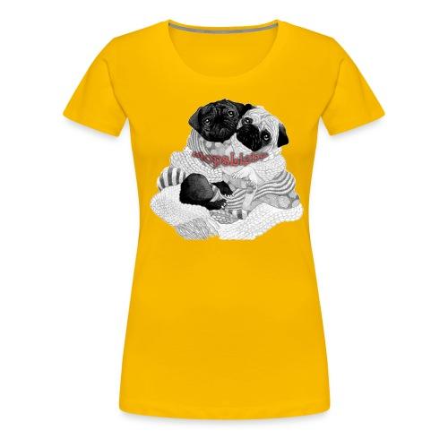 Mopsi - Frauen Premium T-Shirt