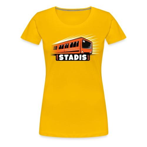 STADISsa METRO T-Shirts, Hoodies, Clothes, Gifts - Naisten premium t-paita