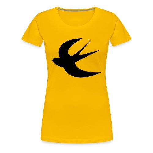 hirondelleblack - T-shirt Premium Femme