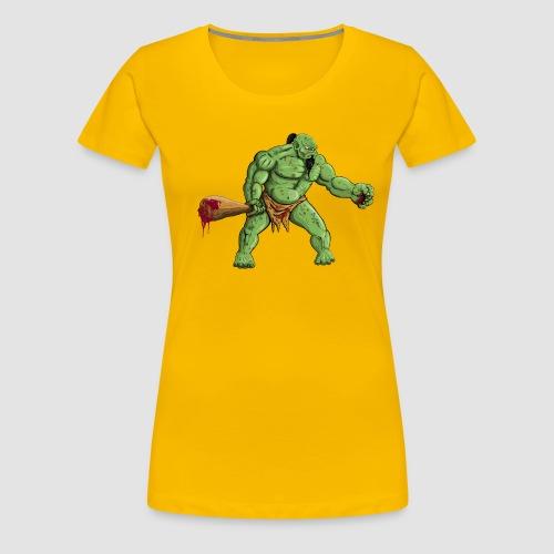 Angry Ogre - Women's Premium T-Shirt