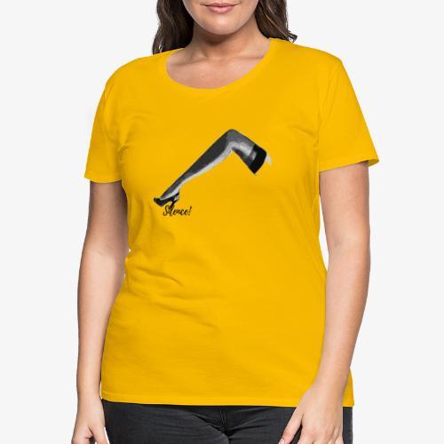 Silence ! - T-shirt Premium Femme