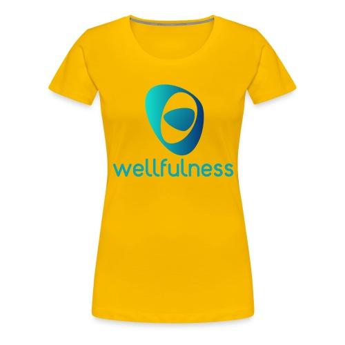 Wellfulness Original - Camiseta premium mujer