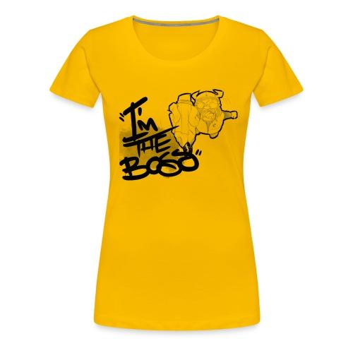 I´m The Boss - Camiseta premium mujer
