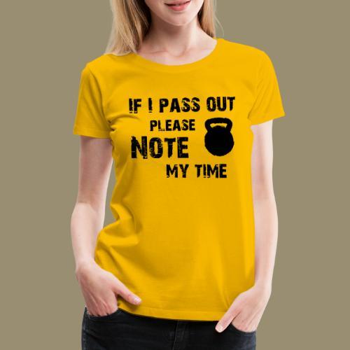 shirtsbydep passout - Vrouwen Premium T-shirt