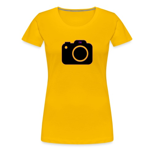 FM camera - Women's Premium T-Shirt