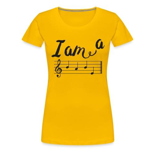 ImABabe - Vrouwen Premium T-shirt