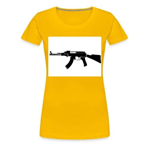 ak47 - Premium-T-shirt dam