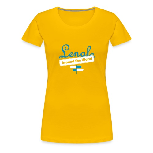 LOGO front - Camiseta premium mujer