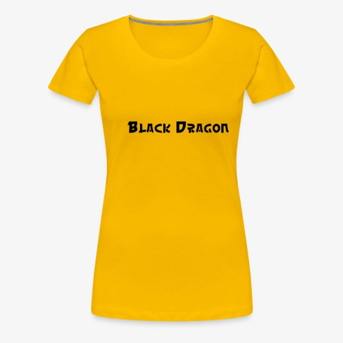 Black Dragon 2 - Frauen Premium T-Shirt