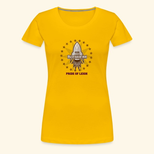 PRIDE OF LEIGH - Women's Premium T-Shirt