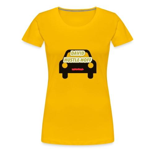 David Hustle-Hoff - Women's Premium T-Shirt