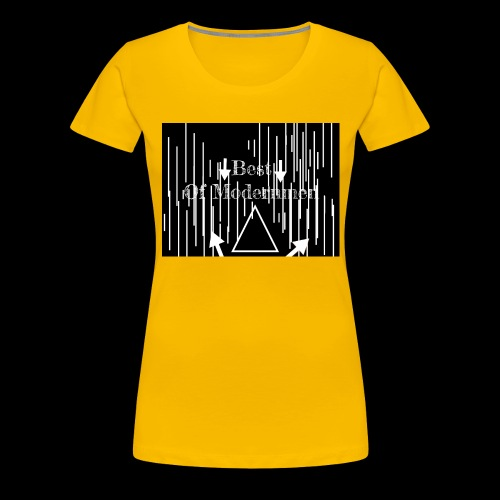 Bestofmodernmen - Maglietta Premium da donna