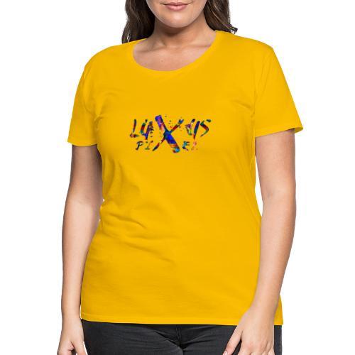 LuxusPixel Logo - Frauen Premium T-Shirt