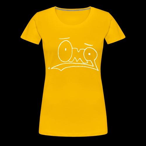 OMG White - Frauen Premium T-Shirt