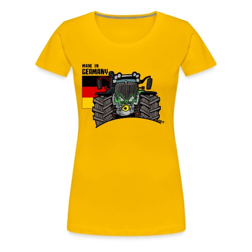 made in germany F - Vrouwen Premium T-shirt