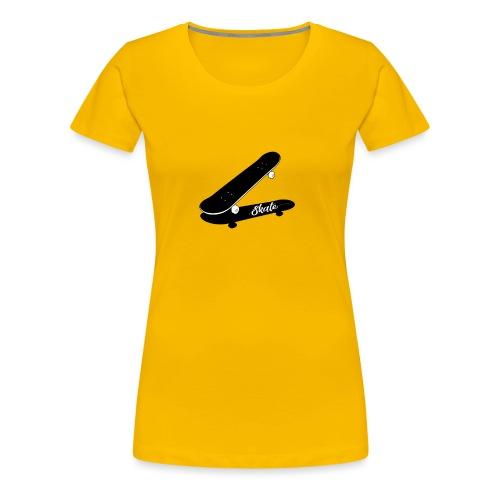 skate - Camiseta premium mujer