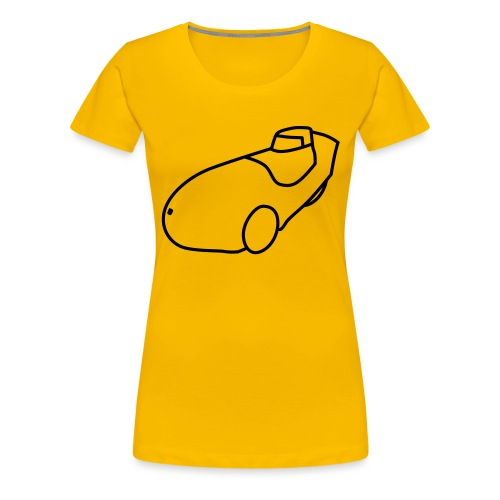 Leiba X-Stream - Frauen Premium T-Shirt