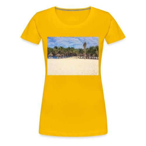Strandweg - Frauen Premium T-Shirt