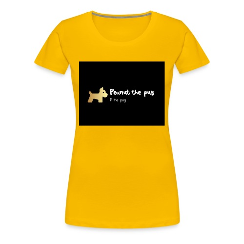 Peanut the Pug Edition - Women's Premium T-Shirt