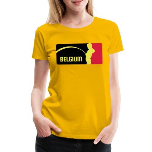 Mannekke Pis, Belgium Rode duivels - Belgium - Bel - T-shirt Premium Femme