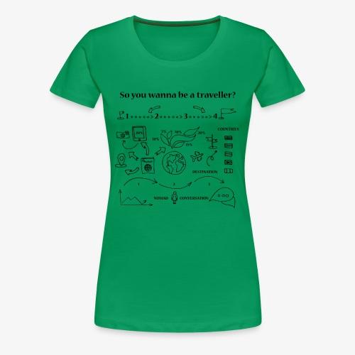 nomad - Women's Premium T-Shirt