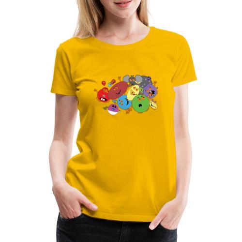 Blubbianerna! - Premium-T-shirt dam