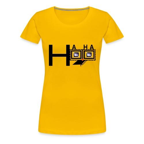 Hahahoo_logo2 - Women's Premium T-Shirt