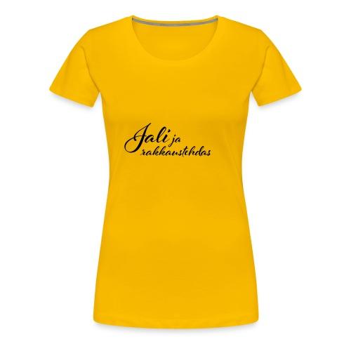 Jali ja rakkaustehdas LOGO - Naisten premium t-paita