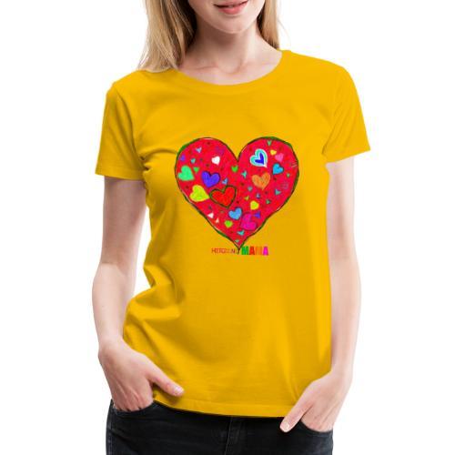 HerzensMama - Frauen Premium T-Shirt