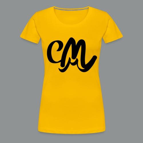Button CM - Vrouwen Premium T-shirt