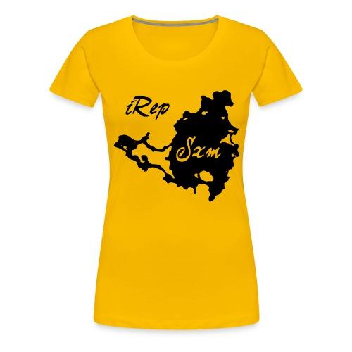 iRep Sxm Front vector - Vrouwen Premium T-shirt