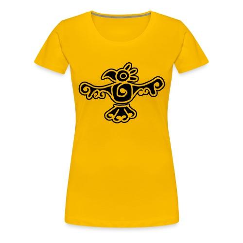 Oiseau ethnic - T-shirt Premium Femme