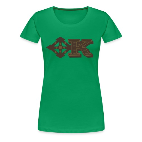Kenya Airways Logo - Women's Premium T-Shirt