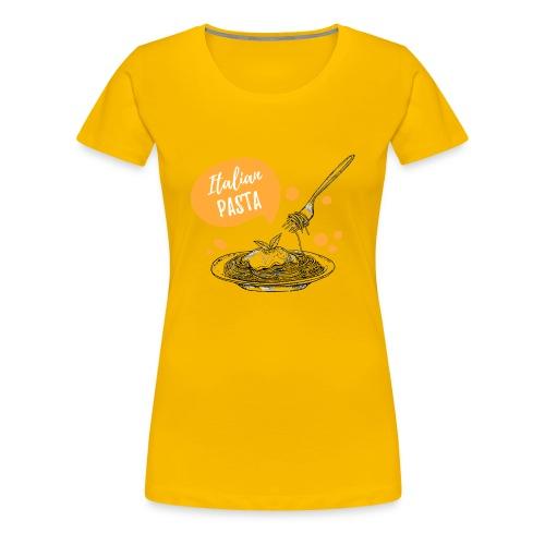 I love Italian Pasta - Camiseta premium mujer