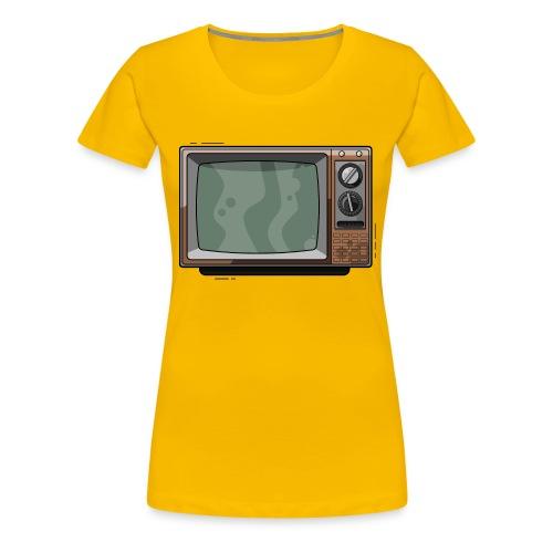 Televisie old school - Vrouwen Premium T-shirt