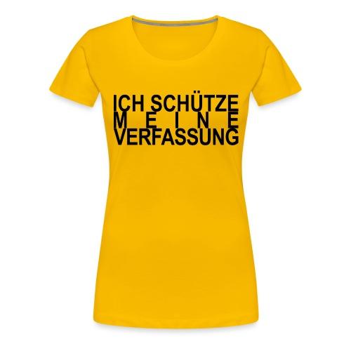 WORTKunstwort 21.4 - Frauen Premium T-Shirt