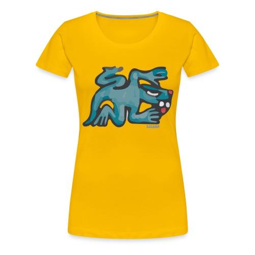 Aztec Lizard/Net - Women's Premium T-Shirt