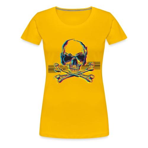 Jolly Roger v1 - Koszulka damska Premium