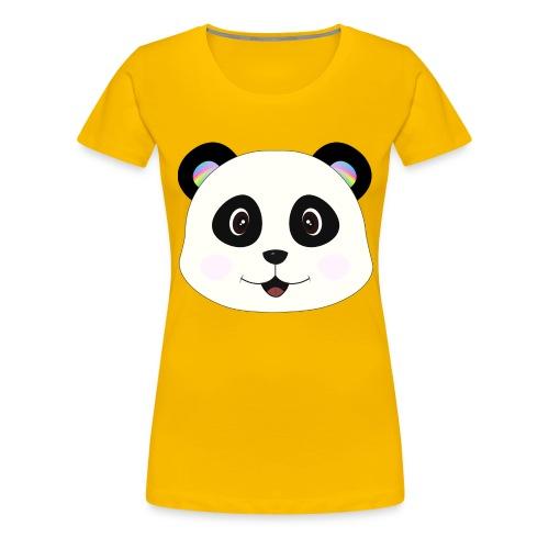 panda rainbow - Camiseta premium mujer