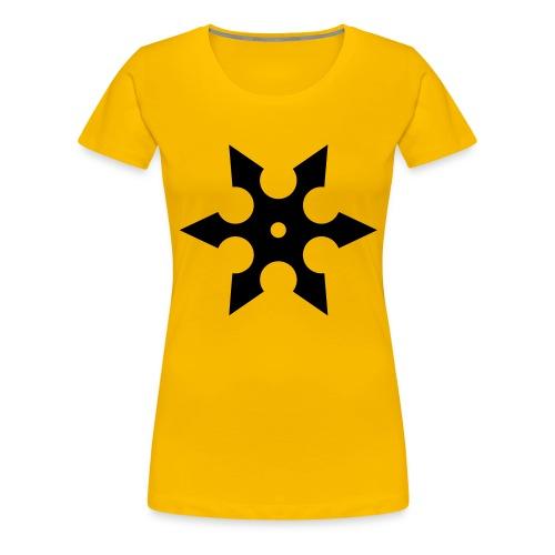 Wurfstern 1 - Frauen Premium T-Shirt
