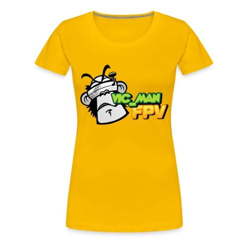 vic_man fpv oficial - Camiseta premium mujer