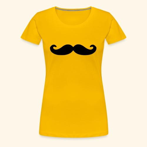 Loco Moustache - Vrouwen Premium T-shirt