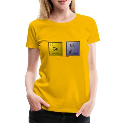 GEEK IV - T-shirt Premium Femme