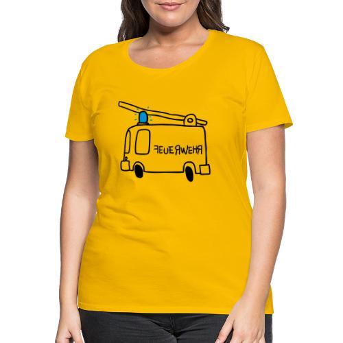 Feuerwehr - Frauen Premium T-Shirt