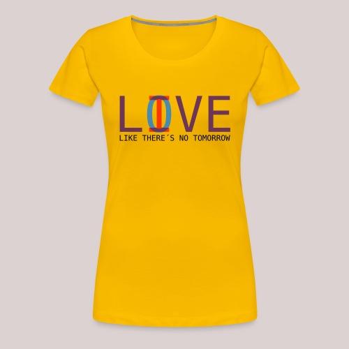 14-30 Love Live YOLO - Frauen Premium T-Shirt