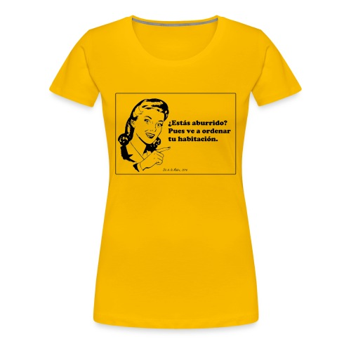 Regalo del día de la madre. - Camiseta premium mujer