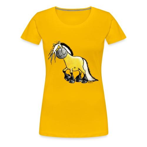 fjord_horse - Women's Premium T-Shirt