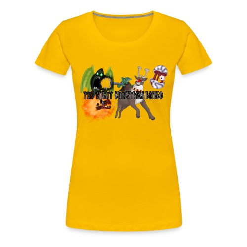 The Night jul Ended - Dame premium T-shirt