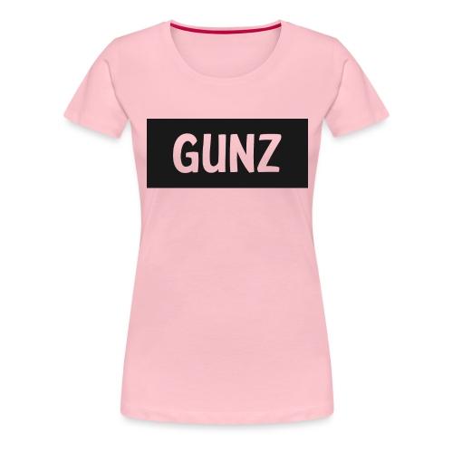 Gunz - Dame premium T-shirt